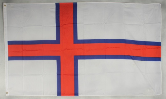 Flagge Fahne : Faroer Inseln Nationalflagge Farör Nationalfahne