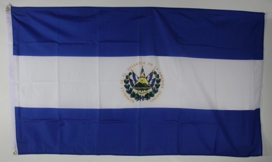 Flagge Fahne : El Salvador Nationalflagge Nationalfahne