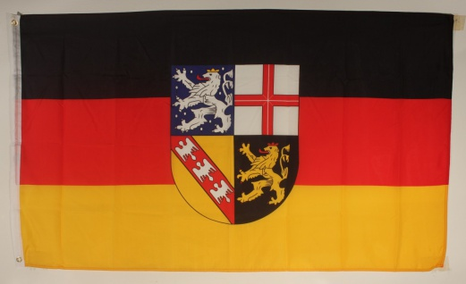 Saarland Flagge Großformat 250 x 150 cm wetterfest - Vorschau
