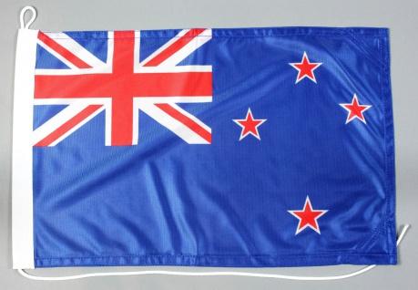 Bootsflagge Neuseeland 30x45 cm Motorradflagge Bootsfahne