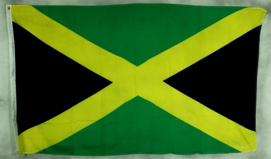 Jamaika Flagge Großformat 250 x 150 cm wetterfest