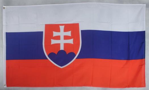 Slowakei Flagge Großformat 250 x 150 cm wetterfest