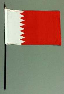Tischflagge Bahrain 25x15 cm BASIC optional mit Tischflaggenständer