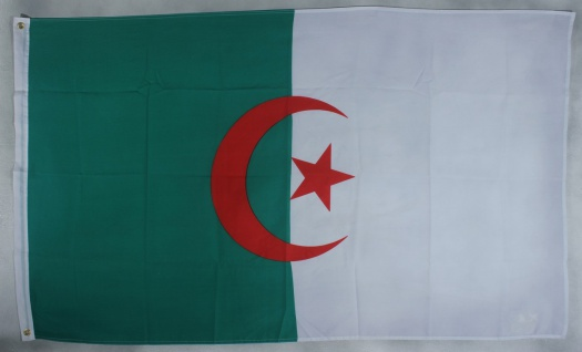 Flagge Fahne Algerien Algerienflagge Nationalflagge Nationalfahne