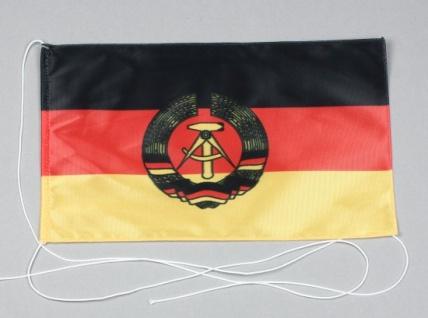 Tischflagge DDR Deutsche Demokratische Republik 25x15 cm optional mit Holz- o...