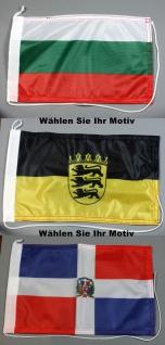 Bootsflagge : Länder, Regionen, Städte, Kantone - Wählen Sie Ihre Flagge