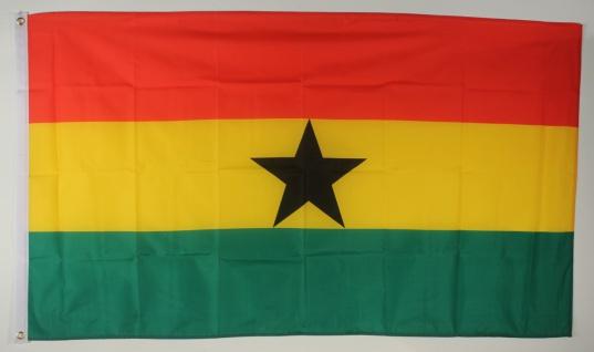 Ghana Flagge Großformat 250 x 150 cm wetterfest