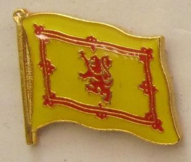 Pin Anstecker Flagge Fahne Schottland Royal Steward
