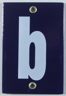 Hausnummernschild b Emaille Hausnummer Schild 12x8 cm Haus Nummer Zahl Ziffer...