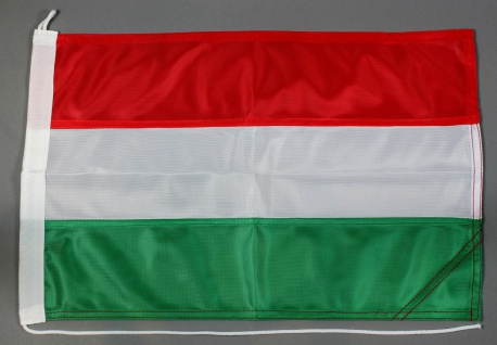 Bootsflagge Ungarn 30x45 cm Motorradflagge Bootsfahne