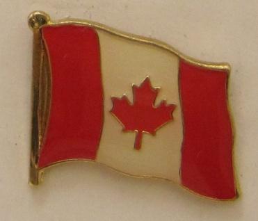 Kanada Pin Anstecker Flagge Fahne Nationalflagge