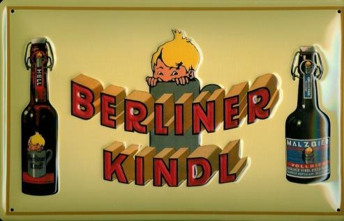 Blechschild Berliner Kindl Bier (2) Biere Schild retro Nostalgieschild
