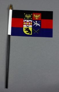 Kleine Tischflagge Ostfriesland 10x15 cm optional mit Tischfähnchenständer