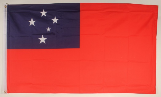 Flagge Fahne : Westsamoa Nationalflagge Nationalfahne