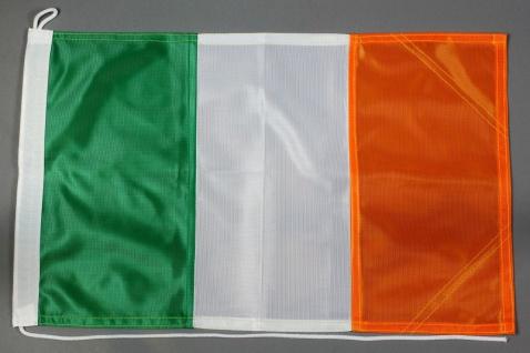 Bootsflagge Irland 30x45 cm Motorradflagge Bootsfahne
