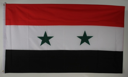 Flagge Fahne : Syrien Nationalflagge Nationalfahne