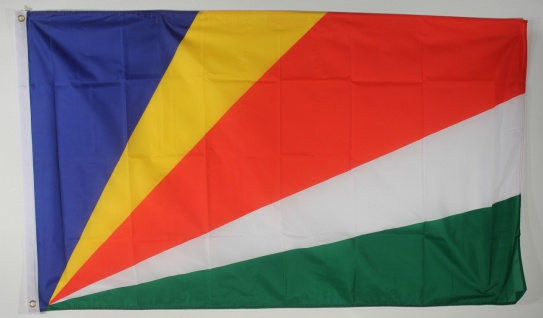 Flagge Fahne : Seychellen Nationalflagge Nationalfahne