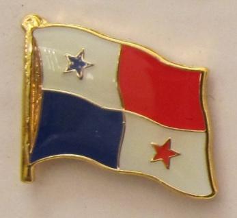 Panama Pin Anstecker Flagge Fahne Nationalflagge