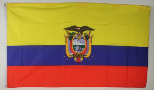 Ecuador Flagge Großformat 250 x 150 cm wetterfest