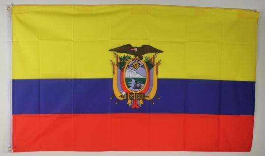 Flagge Fahne : Ecuador Ecuadorflagge Ekuador Eqador Nationalflagge Nationalfahne