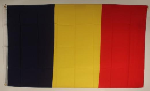 Flagge Fahne Tschad Tschadflagge Nationalflagge Nationalfahne