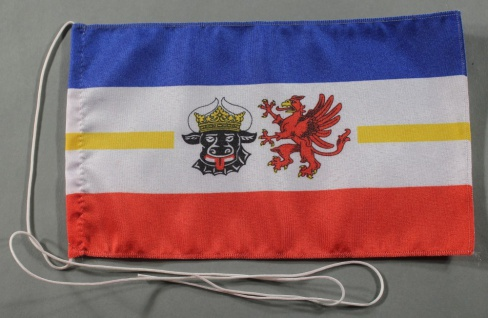 Tischflagge Mecklenburg Vorpommern Meckpom 25x15 cm optional mit Holz- oder C...