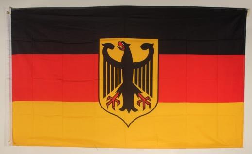 Flagge Fahne Deutschland Dienstflagge Adler 90x60 cm