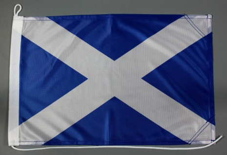 Bootsflagge Schottland 30x45 cm Motorradflagge Bootsfahne