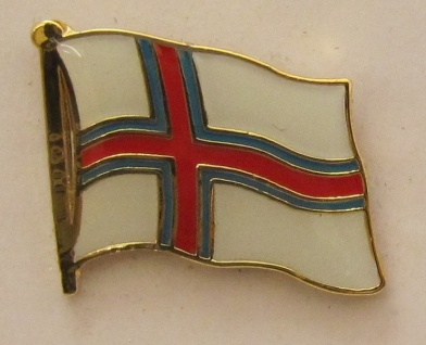 Pin Anstecker Flagge Fahne Faroer Flaggenpin Button Badge Flaggen Clip Anstec...