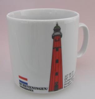 Leuchtturm Becher Scheveningen Niederlande Holland