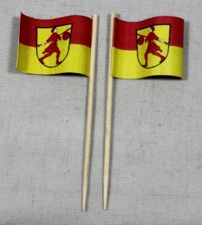 Party-Picker Flagge Wilhelmshaven Papierfähnchen in Spitzenqualität 50 Stück ...