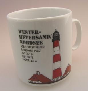 Leuchtturm DEN HELDER Holland Kaffeebecher Becher Nordsee Lighthouse Porzellan