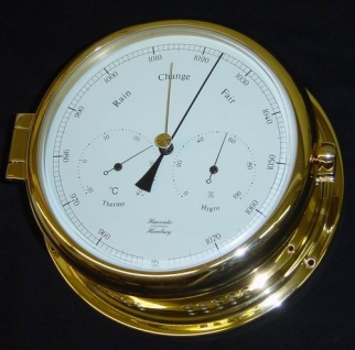 Meteometer Hygrometer / Barometer / Thermometer 180 mm - Vorschau