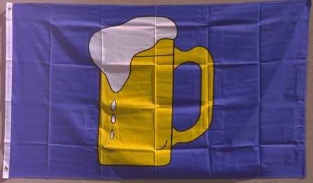 Bierkrug Flagge Großformat 250 x 150 cm wetterfest