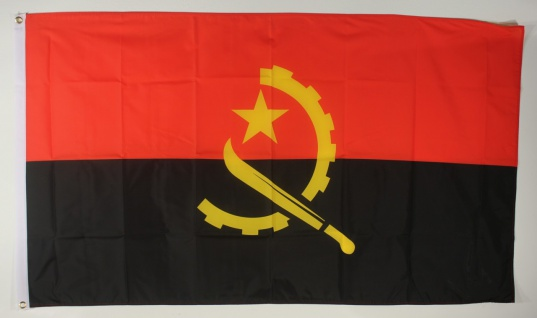 Flagge Fahne : Angola Angolaflagge Nationalflagge Nationalfahne