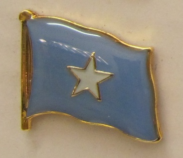Somalia Pin Anstecker Flagge Fahne Nationalflagge