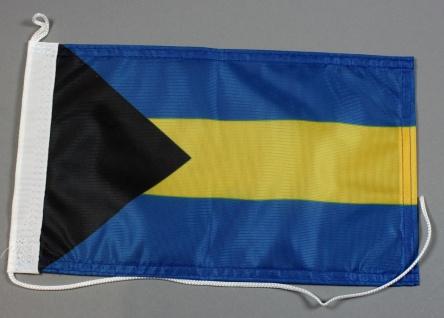 Bootsflagge : Bahamas 30x20 cm Motorradflagge