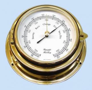 Barometer 150 mm Messing 70mm Tiefe - Vorschau