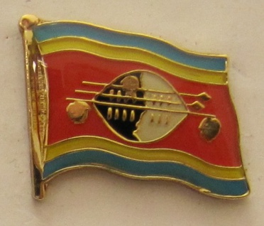 Swasiland Pin Anstecker Flagge Fahne Nationalflagge
