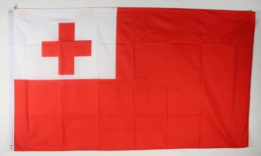 Flagge Fahne : Tonga Nationalflagge Nationalfahne