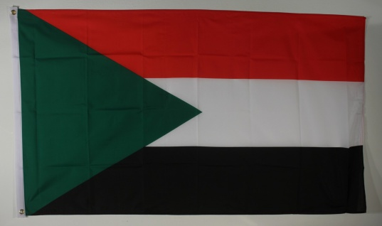 Flagge Fahne : Sudan Sudanflagge Nationalflagge Nationalfahne
