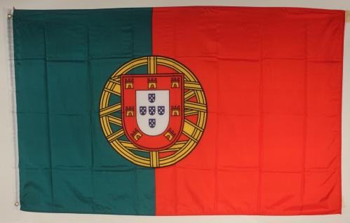 Portugal Flagge Großformat 250 x 150 cm wetterfest