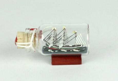 Rickmer Rickmers Mini Buddelschiff 10 ml 5x2 cm Flaschenschiff - Vorschau 2
