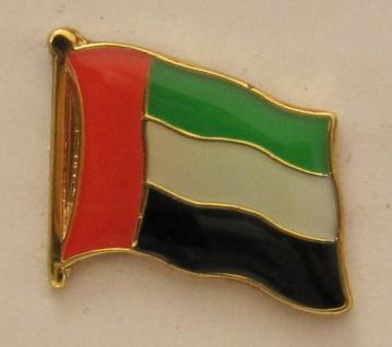 Vereinigte Arabische Emirate VAE Pin Anstecker Flagge Fahne Nationalflagge