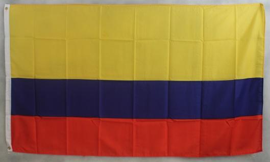 Kolumbien Flagge Großformat 250 x 150 cm wetterfest