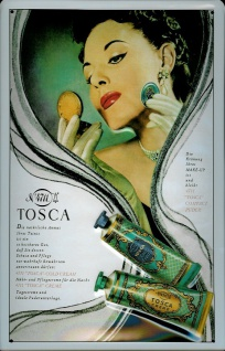 Blechschild 4711 Tosca (2) Tuben kölnisch Wasser Parfum Schild Werbeschild No... - Vorschau