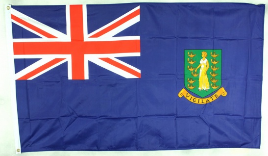 Flagge Fahne : British Virgin Islands Nationalflagge Nationalfahne