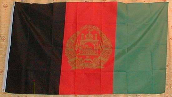 Flagge Fahne : Afghanistan (neu) Nationalflagge Nationalfahne