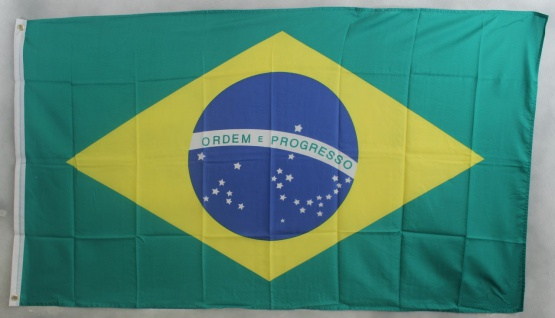 Flagge Fahne : Brasilien Brasilienflagge Nationalflagge Nationalfahne