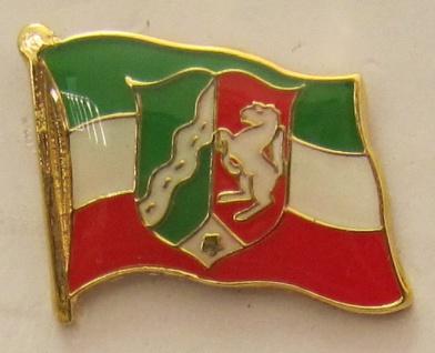 Pin Anstecker Flagge Fahne Nordrhein Westfalen NRW